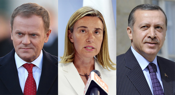 Tusk, Mogherini, and Turkey