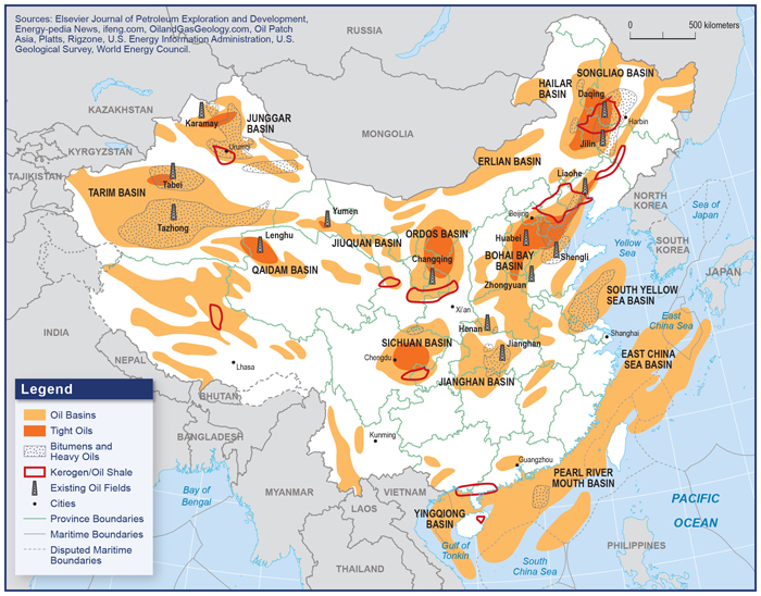 China's Oil Future - Carnegie Endowment for International Peace on scarcity of food in china, a map form america to china, russian maps n china,