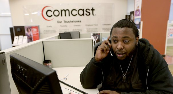 Comcast employee