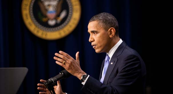 Obama's Briefing on Iran: It's About Pressure, Not