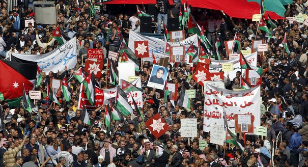 Protest Movements and Political Change in the Arab