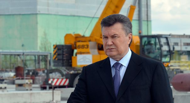 It's Curtains for Yanukovych