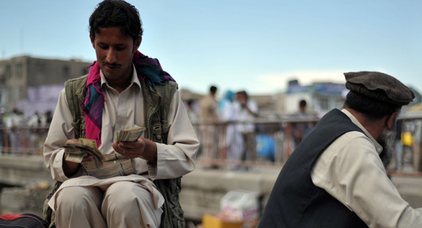 The Afghan Bag Man
