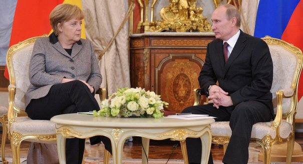 How Merkel Should Work With Russia