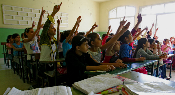 Educating Syrian Refugees in Lebanon