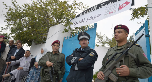 Tunisian Security Forces Rock the Vote