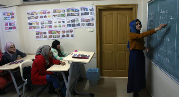 Educating Syrian Refugees in Turkey