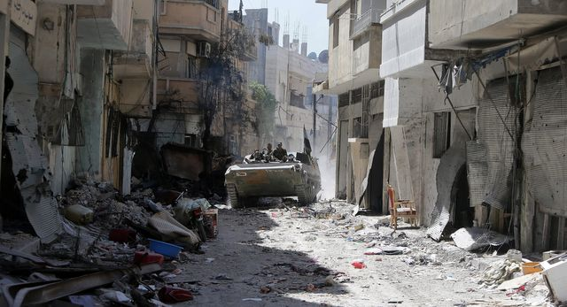 What Would the Fall of Homs Mean?