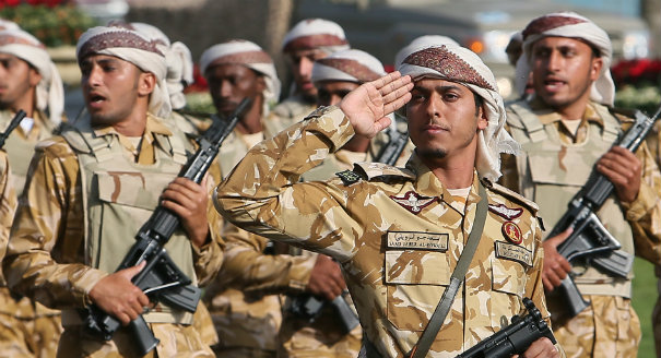 Building New Gulf States Through Conscription
