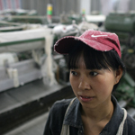 A Chinese manufacturing worker