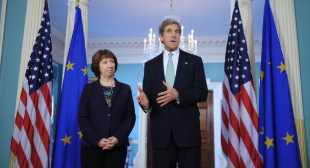 Ashton; Kerry; transatlantic