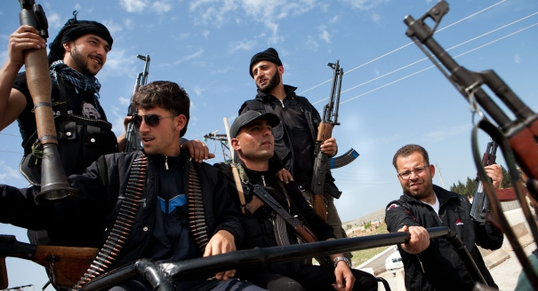 Judy Asks: Is It Time for Europe to Arm the Syrian Rebels?