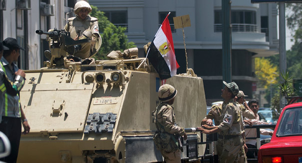 Judy Asks: After the Egyptian Coup, a Civil War?