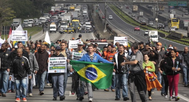 1:0 to Brazil's Protesters