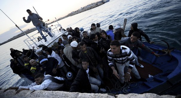 immigration; Lampedusa