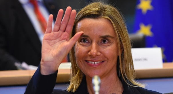 Welcome to the Bubble, Mrs. Mogherini