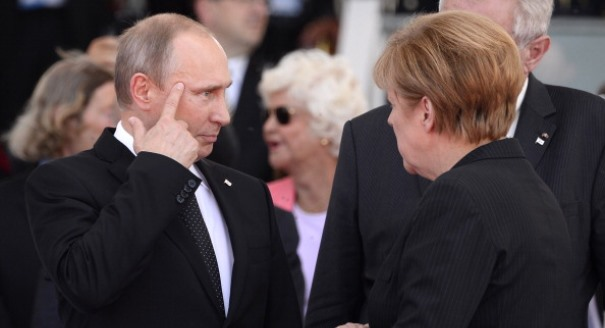 Can Merkel Deal With Putin's Myths?