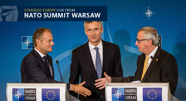 NATO and the EU Agree to End Their Rivalry
