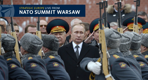 Russia Eyes NATO in Warsaw
