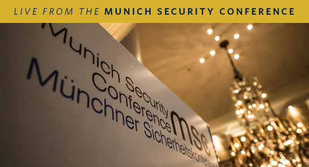 Live From the Munich Security Conference