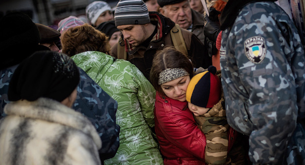 The Voices of the Displaced in Ukraine and Russia