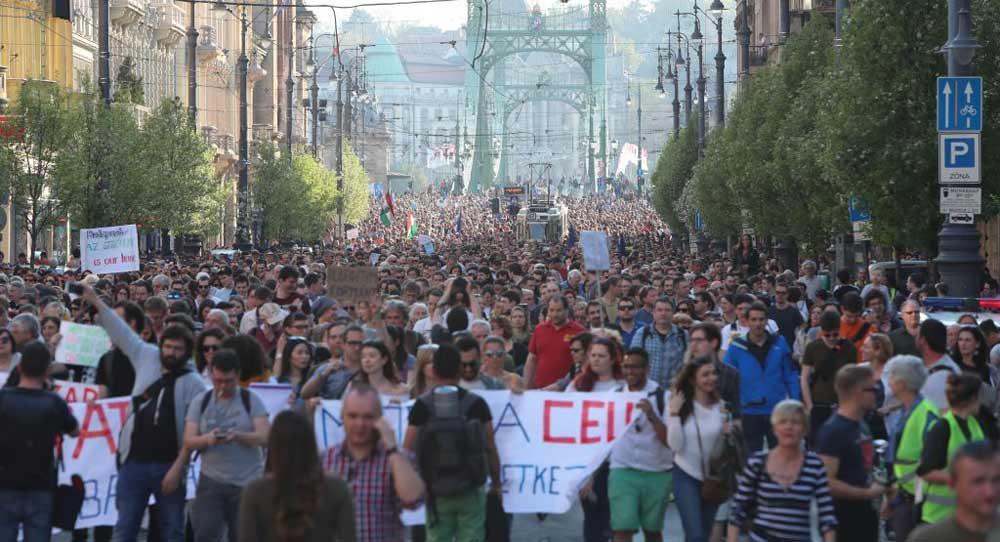 The Saga of Hungary's Central European University