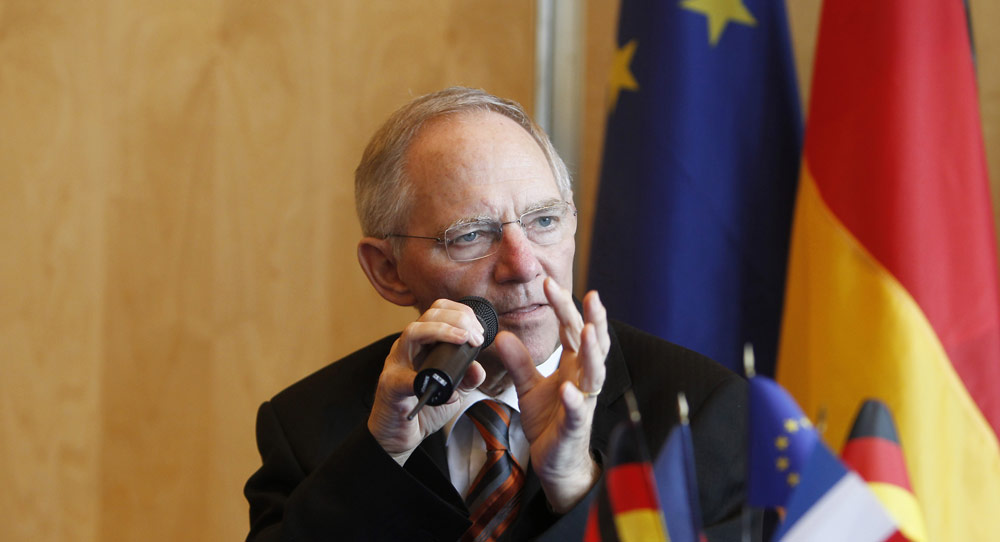 Wolfgang Schäuble's Europe
