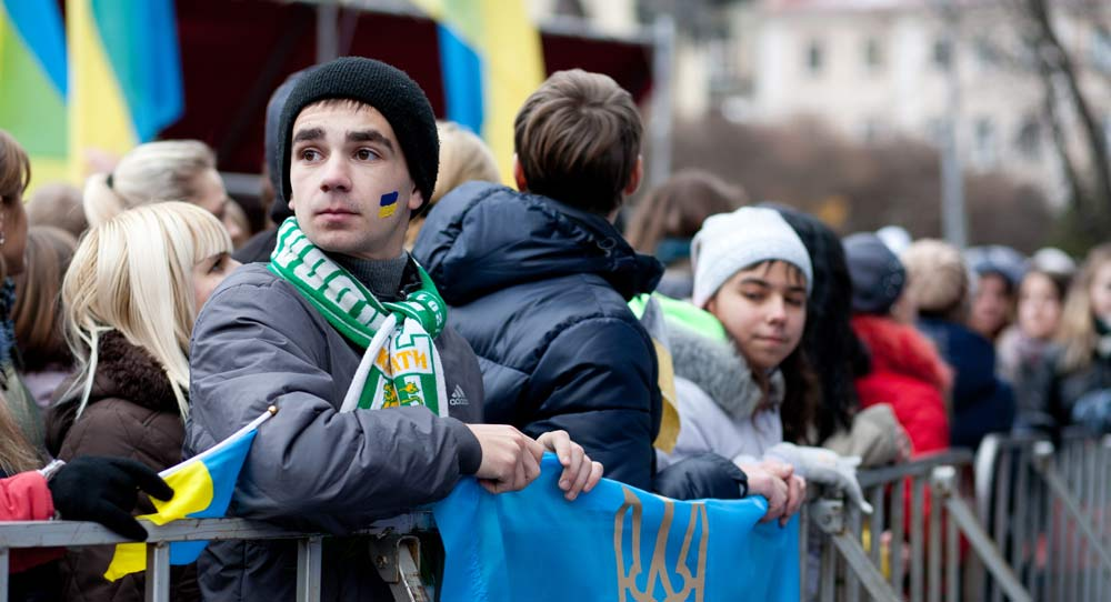 Ukraine's Youth: Politically Disinterested and Low Trust in the EU