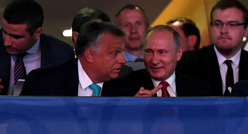 Putin's Man in Hungary, Putin's Man in Germany