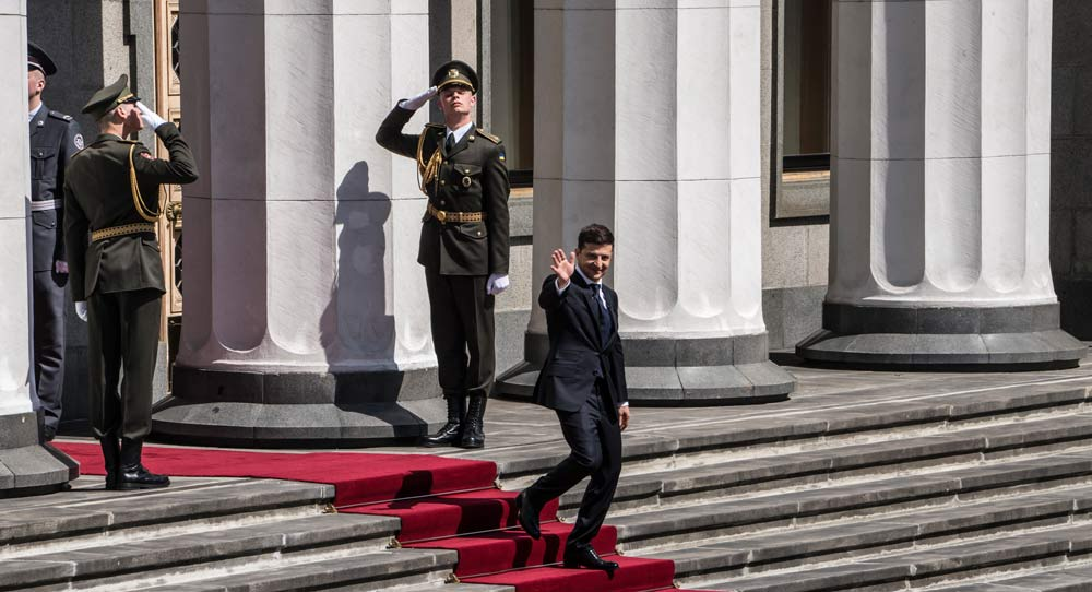 Zelenskiy's Presidency Is a Chance for Europe
