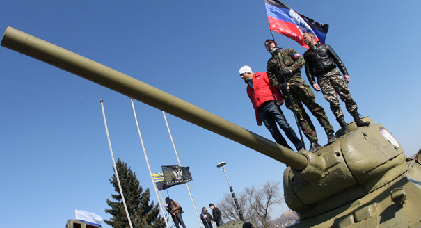 Europe Looks On as Russia Marches Into Ukraine