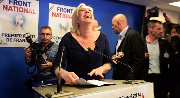 Marine Le Pen; European elections