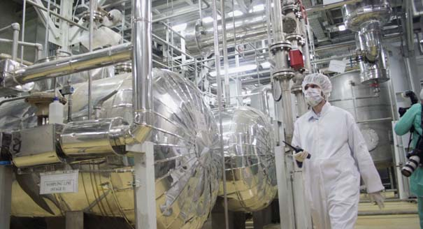 Iran Agrees to Take Steps to Reduce Enriched Uranium Stockpile