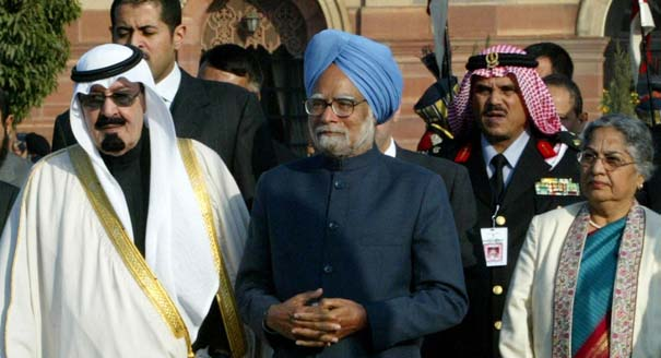 Saudi and Indian leaders