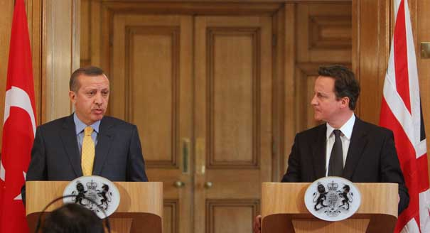 Erdogan; Cameron; Turkey; United Kingdom