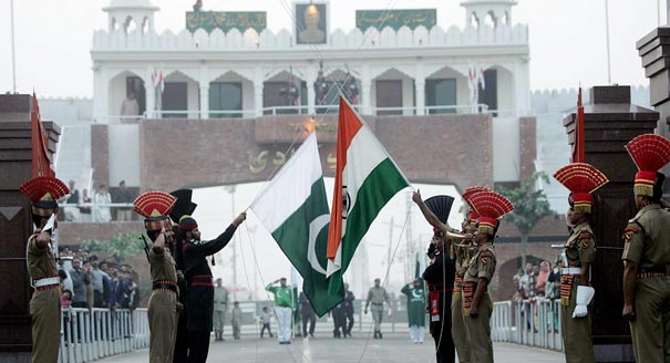 Indian and Pakistani Troops