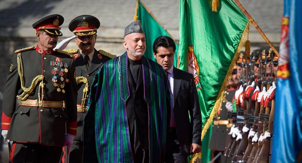 Enabling Hamid Karzai