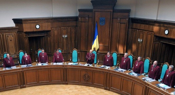 Ukraine Becomes a Presidential-Parliamentary Repub