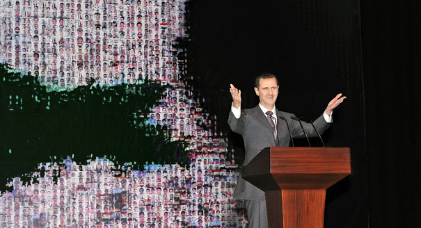 Falling Back, Fighting On: Assad Lays Out His Strategy