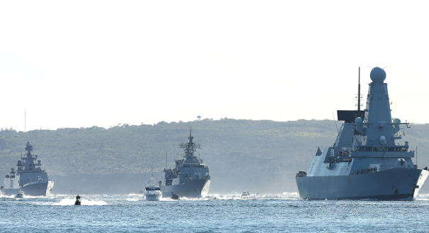 China's First Trip to RIMPAC