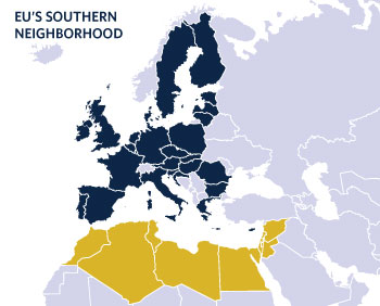 In its foreign policy toward North Africa and the Middle East, the EU is putting stability before human rights, as it did before the Arab Spring.