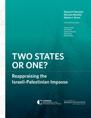 Two States Or One Reappraising The Israeli Palestinian Impasse
