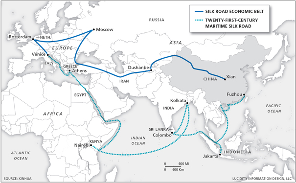 Chinas belt and road destination europe carnegie europe new initiative is ultimately about transportation infrastructure many observers have reacted with perplexity to this notion after all if china were gumiabroncs Gallery