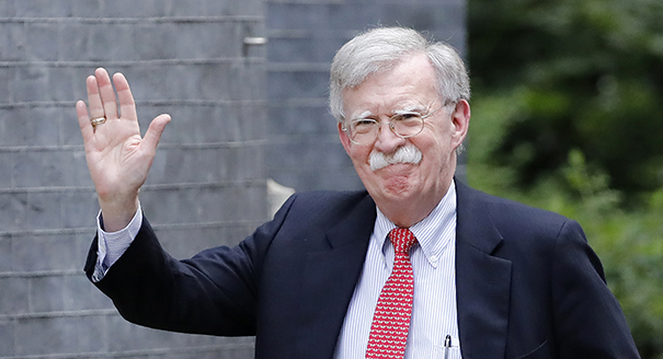 John Bolton Is No Longer the U.S. National Security Advisor