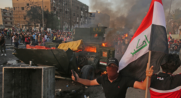 Iraq Is Currently Being Shaken by Violent Protests