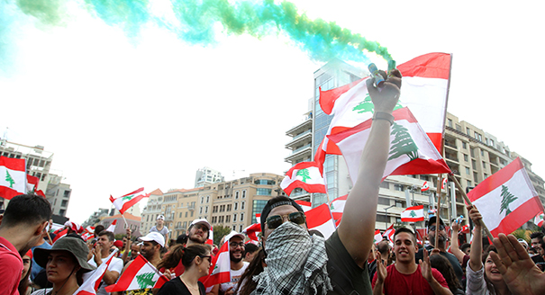 Mass Protests Have Taken Place in Lebanon Against the Political Class and Its Economic Policies