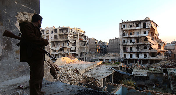Who Is Laying Siege to Whom in Aleppo?