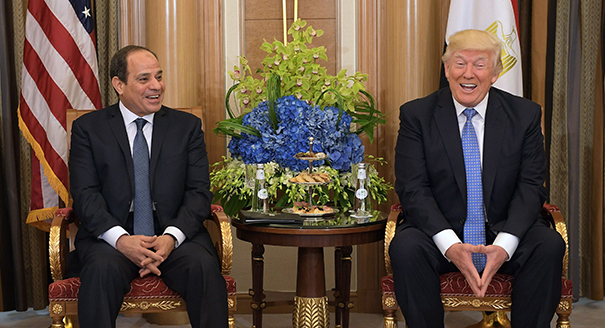 Does It Matter That Donald Trump Endorses Arab Despots?