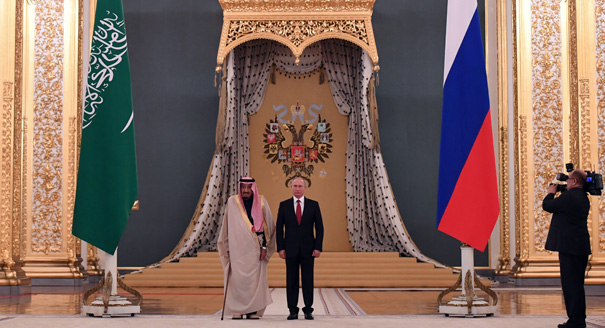 What Did King Salman's Visit to Russia Say About U.S.-Saudi Relations?