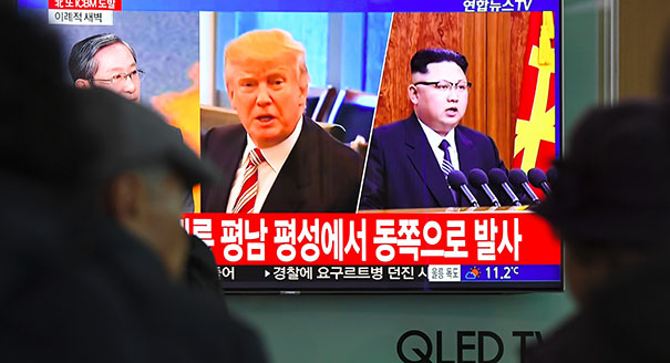 With Snap 'Yes' in Oval Office, Trump Gambles on North Korea